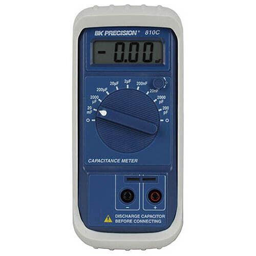 BK Precision 810C Compact Capacitance Meter, 20 mF