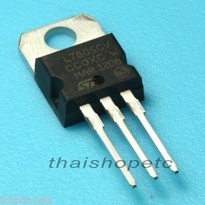 10 X L7805cv L7805 7805 Volt Regulator 5v 1.5a