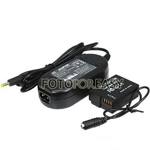 DMW-AC8 + DMW-DCC8 DC Coupler AC Power Adapter for Panasonic Lumix DMC-GH2 GH2H
