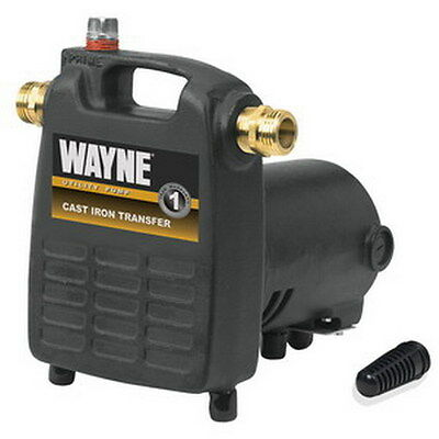 Wayne Jet King Pc-4 Water Removal Utility Pump 115 Volt 12 Hp
