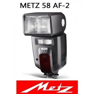 Metz Mecablitz 58 AF-2 TTL Shoe Mount Flash for Canon DSLR 58321C BRAND NEW!