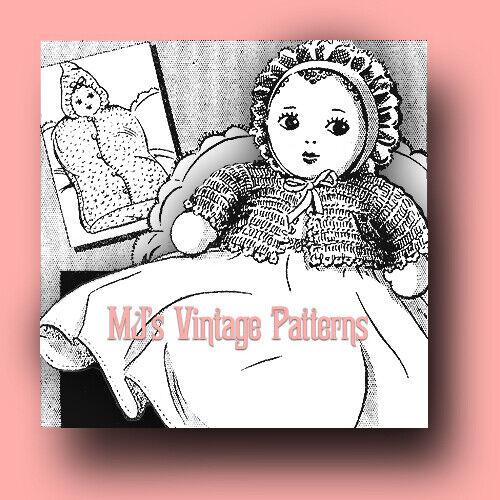 Vintage SUPER OLD Baby Doll Pattern ~ 1930s