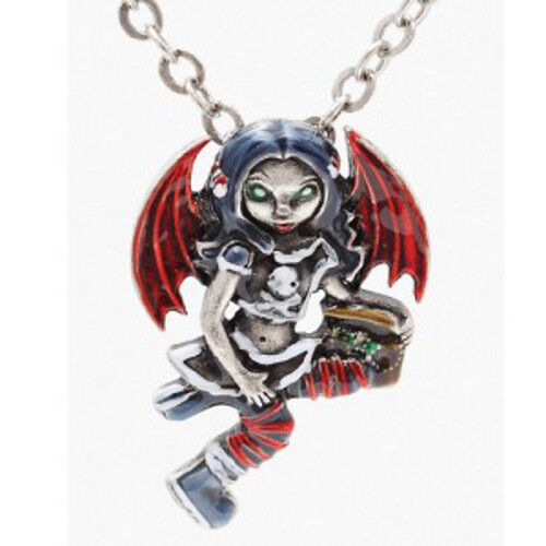 PIRATE FAERY Fairy Necklace Jasmine Becket-Griffith Strangeling faerie pendant