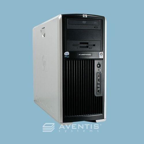Hp Xw8400 Workstation 2 X 3.0ghz Dual / 4gb / 1tb / Win 7 / 1 Year Warranty