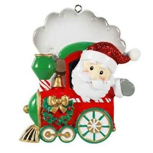 Train Christmas Ornaments Ebay
