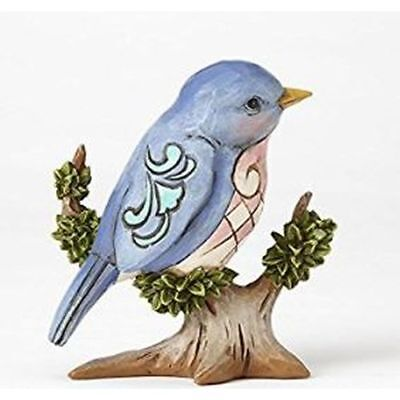 New Enesco Heartwood Creek Mini Bird on Branch Figurine