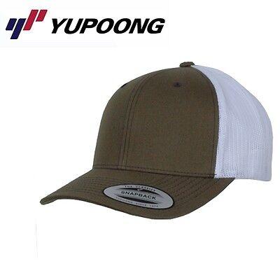 Yupoong Retro Trucker Cap Uni/One Size Buck Weiß Buck Cap