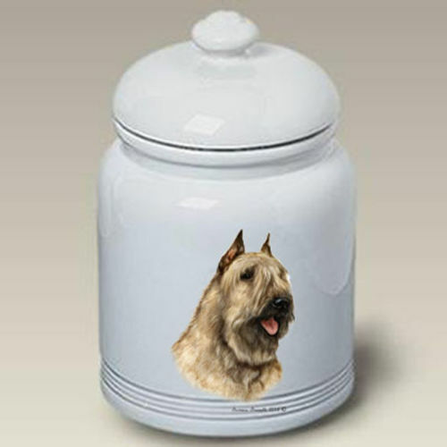 Bouvier des Flandres Ceramic Treat Jar TB 34303