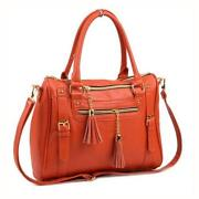 Orange Designer Purse