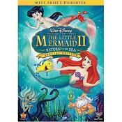 Ariel Little Mermaid DVD