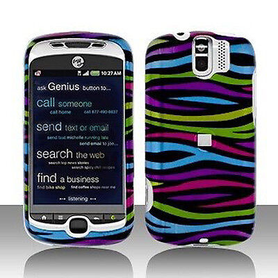 Colorful Zebra Hard Case Cover for HTC myTouch 3G Slide