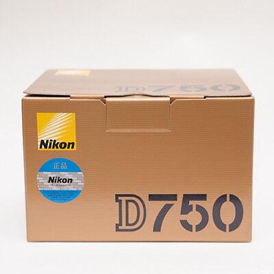 (Body Only) Nikon D750 24.3MP Digital DSLR Camera Without lens Genuine No wifi _