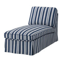 Ikea EKTORP Free-Standing Chaise Lounge Cover - Abyn Blue