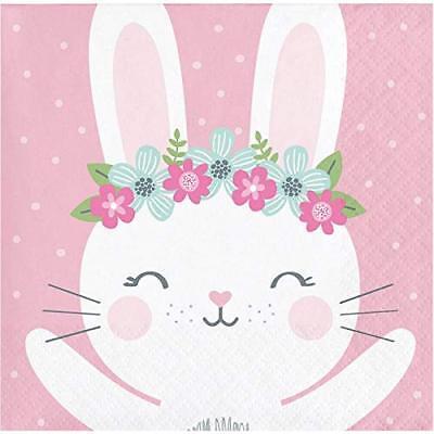 Bunny Birthday (Bunny 1st Birthday, Baby Shower Party Supplies Beverage Napkins)