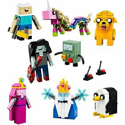 NEW LEGO Adventure Time TV Series Figures 495 Pieces Building Toy Set ~ 21308