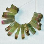 Green Tourmaline Beads