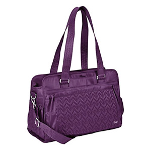 Lug Caboose Carry-All Bag in Plum Purple