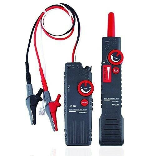 Noyafa NF-820 Upgraded Underground Cable Wire Locator with Anti-Interference