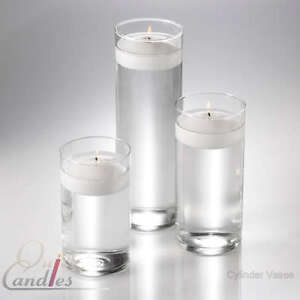 36 Glass Cylinder Vases Wedding Centerpieces Candles. Reception Decor, Events
