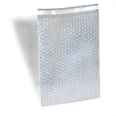 100 4 X 7.5 Clear Bubble Out Bags Protective Wrap Pouch Self Seal 4x7.5 Pouches