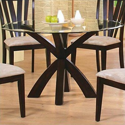 $122.79 - Coaster Home Furnishings 101071 Casual Dining Table Base, Deep Merlot Finish not