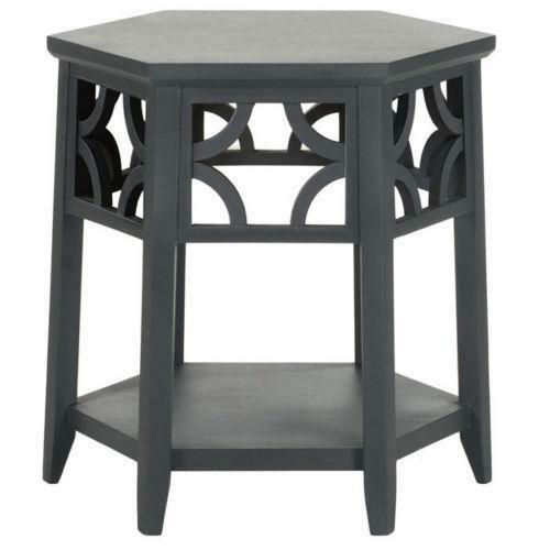 Hexagon End Table Ebay