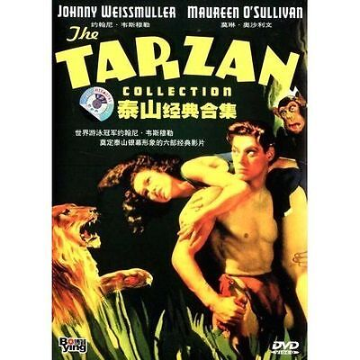 The Tarzan Collection Vol.1 DVD 6-DISC Boxset 6 Movies NEW & SEALED