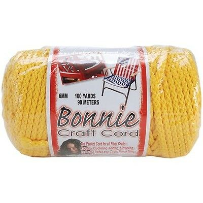 Pepperell Bonnie Macrame Craft Cord 6mm 100 Yards - 257529