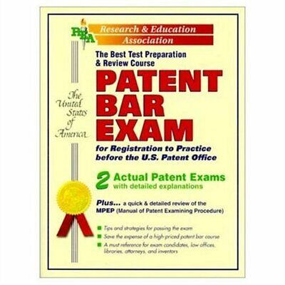 Patent Bar Exam : The Best Test Preparation and Review Course by The Staff (Best Patent Bar Prep)