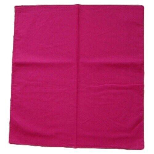 3+x+NO+Pattern+Plain+Bandana+Head+Neck+Scarf+Face+Covering+Mask+Wrist+Wrap+Pink