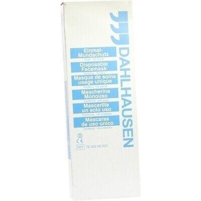 Mundschutz weiss GesichtsMaske einlagiger Atemschutz 100 Stück im Pack