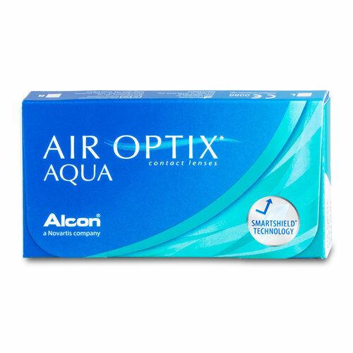 Ciba Vision - Alcon - Air Optix Aqua Kontaktlinsen (1x6 Monatslinsen)