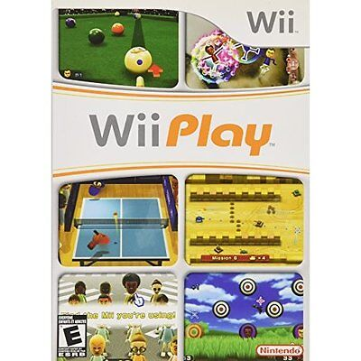 Wii Play Game For The Wii And Wii U Consoles Game Only Very Good 9Z