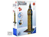 Ravensburger Big Ben, 216pc 3d Jigsaw Puzzle