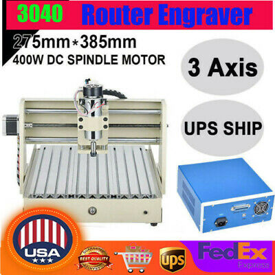 Cnc 3040 3 Axis Usb Router Engraver Engraving Drilling Milling Machine 300x400