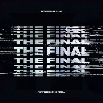 iKON[NewKids:The Final]EP Album BlackOut CD+Poster+Book+Card+etcr+Gift+Tracking
