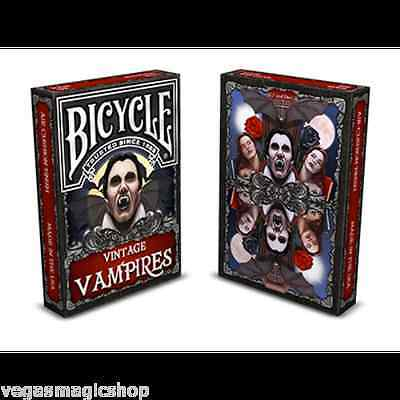 Vintage Vampires Deck Bicycle Playing Cards Poker Size USPCC Limited Sealed New