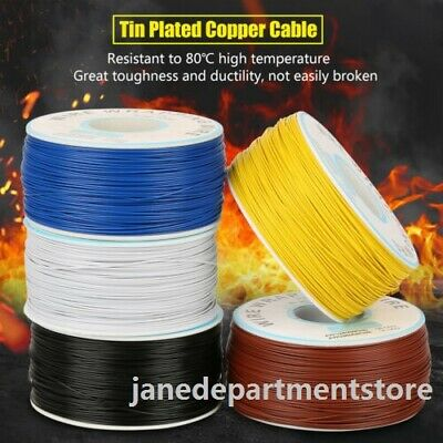250mlot Awg30 Electrical Wire Wrapping Wire Wrap Single Strand Copper Pcb Cable