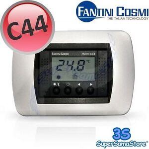 3s nuovo termostato ambiente incasso digitale c44 fantini for Fantini cosmi c50
