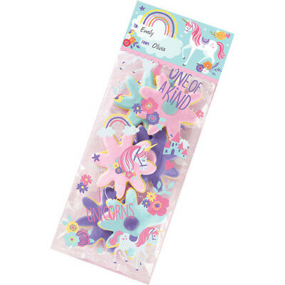 - MAGICAL UNICORN DELUXE FAVOR BAG KIT (40pc) ~ Birthday Party Supplies Treat Loot
