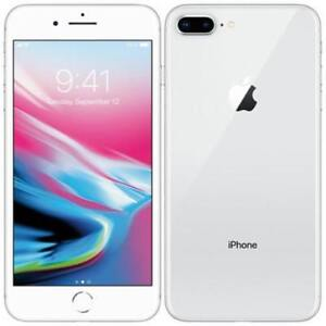 Apple iPhone 8 Plus, 64 GB, Silver - Open Box - Unlocked - Discounted Price - With Warranty