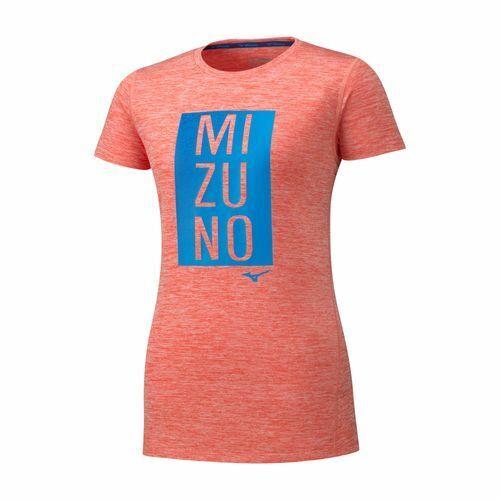 T-SHIRT MIZUNO DONNA IMPULSE CORE GRAPHIC TEE J2GA9217 56 CORALLO ROSA SPORTIVA