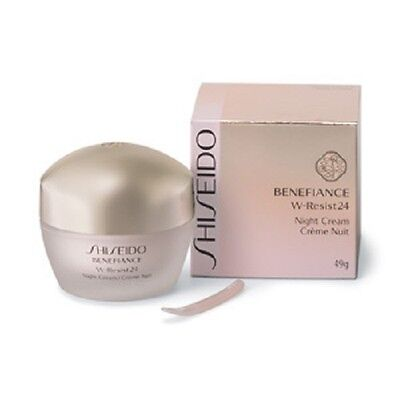 F/S ☀Shiseido☀ Benefiance Wrinkle Resist 24 Night Cream 49g - With tracking