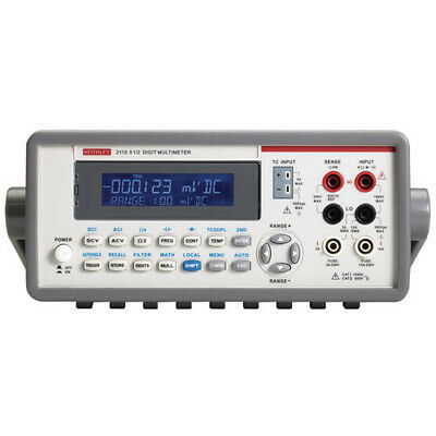 Keithley 2110-100 5 12-digit Multimeter Ki Usb Interface 100v Line