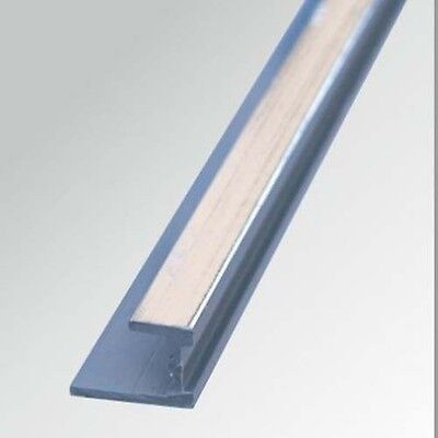 3 X Shower Wall Panels Chrome Base Trim  10mm X 2400 long at very best price