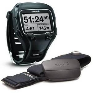 Garmin Forerunner 910XT GPS watch w HRM & Foot Pod Canberra City North Canberra Preview