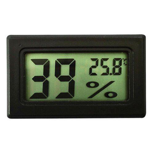 2 PCS Digital LCD Indoor Temperature Humidity Meter Thermometer Hygrometer