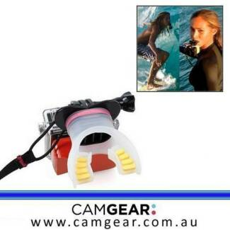 GoPro Mouth Mount - Brand New - Fits HERO 4 / 3+ / 3 / 2 / HD Surfers Paradise Gold Coast City Preview