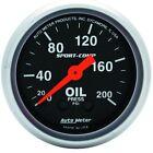 Auto Meter Mechanical Car & Truck Oil Pressure Gauges