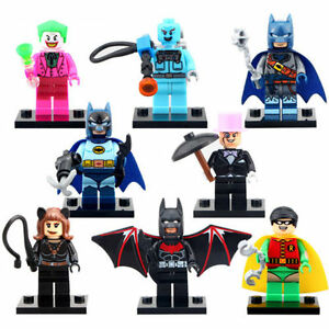 Lego Batman Movie Minifigures (8 different Figures -New)
